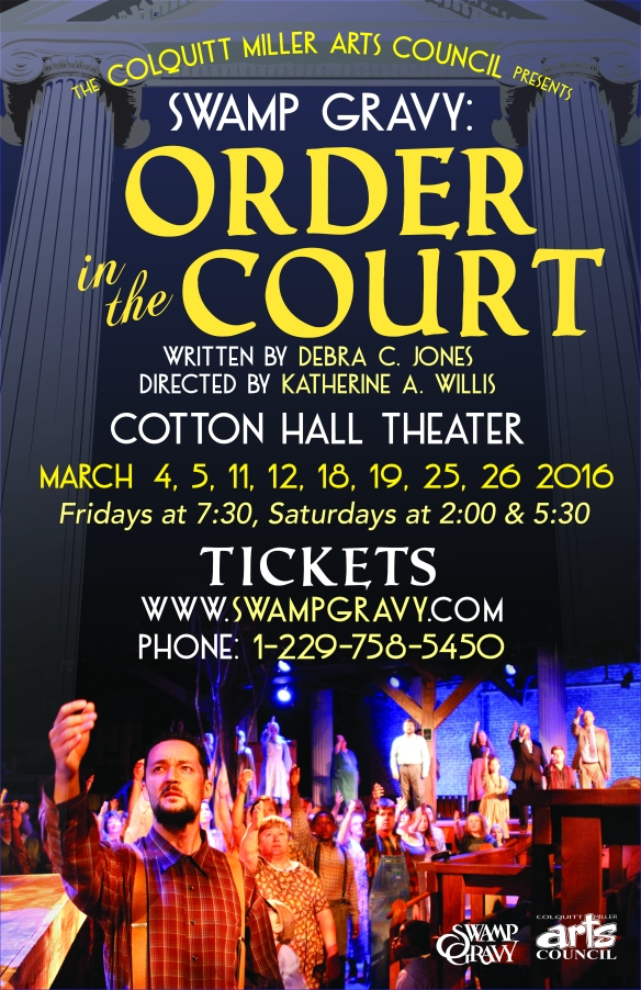 Order in the Court Spring Poster